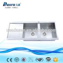 DS11650 foster undermount double drainer stainless steel kitchen sink