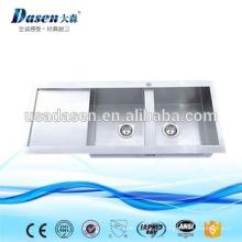 DS11650 foster pia de cozinha de aço inoxidável undermount duplo escorredor
