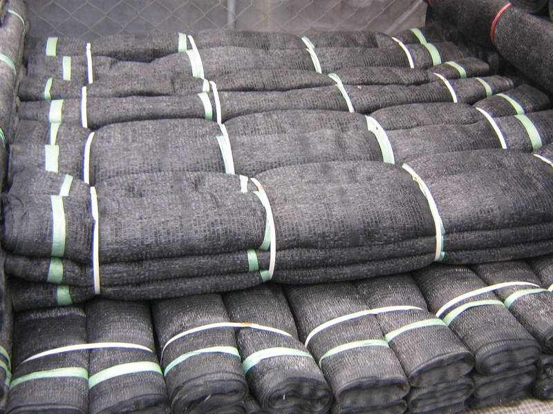 black sunshade net