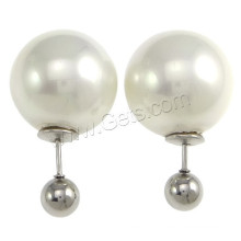 Gets.com 2015 south sea shell beads stud earrings making
