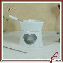 Novo tipo de fondue cerâmica set