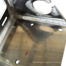 China OEM OEM piezas de soldadura de aluminio