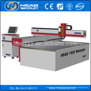 1500 * 2500mm Edelstahl Blechschneidemaschine durch Wasser