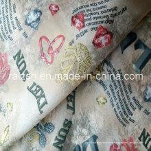 Tafetán magnífico impreso de nylon para la ropa / estilo étnico patrón
