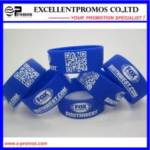 Promotional Logo Customized Silicone Wristband (EP-W58401)