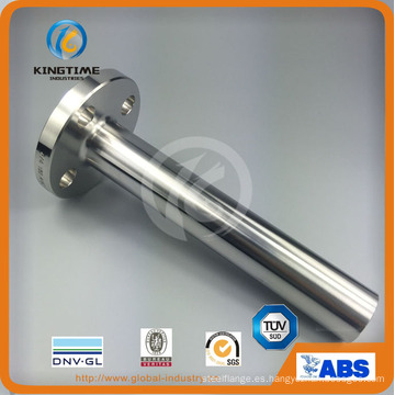 Brida acero dúplex Lwn reborde forjado a ASME B16.5 (KT0051)