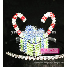 Mode östlichen Prinzessin Kristall Kuchen Festzug Tiara