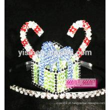 Moda princesa oriental princesa de bolo de cristal tiara