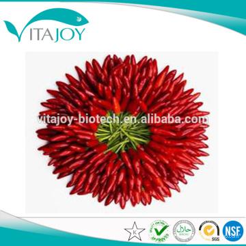 100% Extrait naturel de paprika 10% Capsaicine en vrac avec bon prix