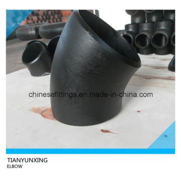 45degree Carbon Steel Long Radius Seamless Elbow