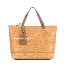 Top Sale Fashion Ostrich Leather Women Madison Tote Handbag 257049
