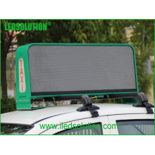 Outdoor Advertising Taxi Top LED Display