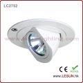 Ballast de lampe à halogénure métallique MR16 de logement blanc! Lumière haloïde en métal de plafond de 50W HID pour la boutique de mode