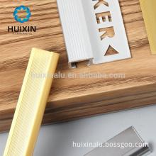 aluminium material golden tile trim for housing decoration