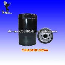 Filtro de aceite del automóvil 04781452AA, 070115561 para Ford / Lincoln / Mercury, Chrysler / Jeep / Mitsubishi, Mazda, varios equipos industriales