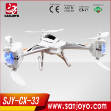 2015 NEW Cheerson CX-33 6-axis gyro drone one key landing and take off rc quad drone professional helicopter
