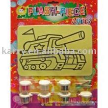 Sand art kit for children 1515#