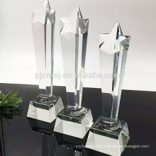 Widely used superior quality new design custom crystal award trophy