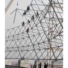 Marco de acero galvanizado de construcción de acero prefabricado en venta