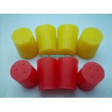Placas de borracha de silicone resistentes ao calor personalizadas