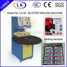 Blister Sealing Machine pour USB Pack