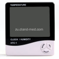 I-Indoor Alarm Clock Digital Temperature Humidity Meter