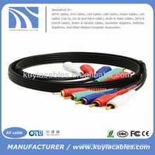 3FT COMPONENT VIDEO CABLE CON AUDIO 5 RCA CABLE HDTV DVD VCR 3 FT