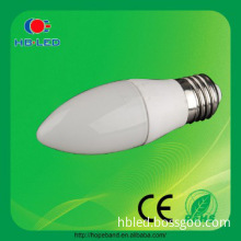 hot sale best price warm white 4w E27 335lm candle led lights