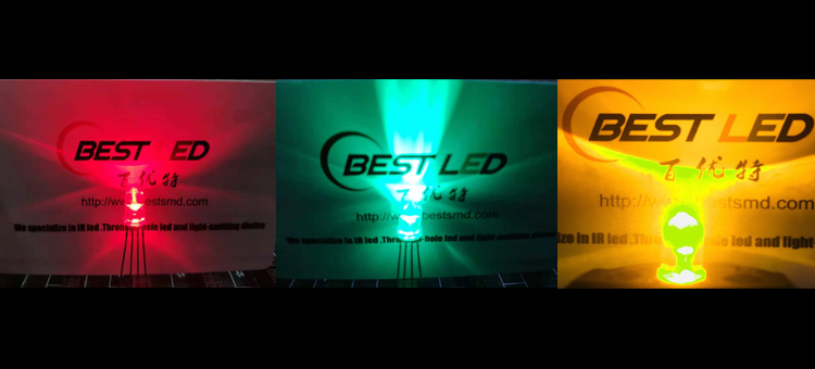 5mm RYG LED common andoe