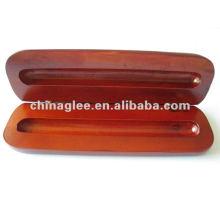 caixa de madeira caneta