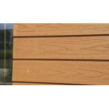 low maintenance/wpc engineered outdoor wall cladding/wood grain wpc waterproof wall