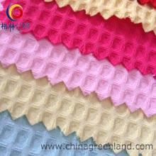 100% poliéster Walf verifica tecido Jacquard para vestuário têxtil (GLLML063)