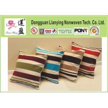 Aceitar Personalizar Burlap Decorative Pillow