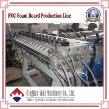Linha da máquina da extrusora da placa da crosta do PVC com Ce e ISO