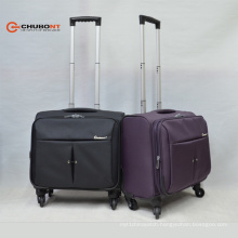 Chubont Hot Sell Carry-on Paded 16 Inch Laptop Trolleycases