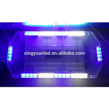 12 V 24 V 40 LED Aviso Strobe Polícia Mini Lightbar 60 cm 40 watt LED azul luz do flash, emergência levou barra de luz
