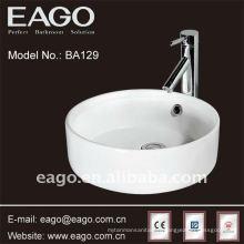 EAGO Vasque en céramique de salle de bains avec le certificat de la CE