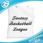 China Factory Cheap Reusable Fashional Large Custom Logo Supermarket Canvas Shopping Bag