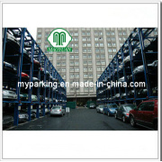 2-6 Floors OEM Smart Card Control Mechanical Car Elevator Automated Car Parking Lot System