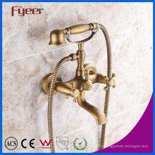 Robinet de mélangeur de douche de bain de téléphone antique de bronze de Fyeer pour fixé au mur