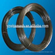 Fil de fer à faible prix / fil recuit noir / SAE1008B, fil machine en acier 1010B en bobine 5.5mm