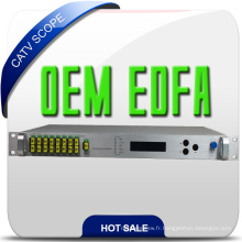 High Performace Construit dans Wdm CATV 8 Way Erbium-Doped Fiber Amplifier