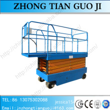 Full automatic self-propelled scissor lift platform for out aerial working