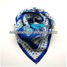 Fashion square silk handkerchief and scarf