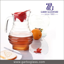 1.7L Spiral Shell Shape Glass Water Kettle (GB1113F)