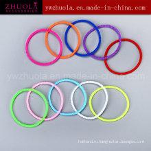 Eco-Friendly Красочный силиконовый браслет поставщика