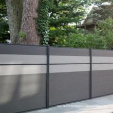 1.8 Meter American Home Garden Outdoor Patio UV Resistant Waterproof Exterior Wood Effect Plastic Composite Wood WPC 6FT Fence