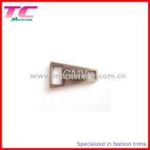 Alta qualidade zinco liga bagagem zipper puller