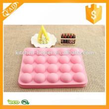 Высокое качество Смешные силиконовые торт плесени Прекрасный силиконовый торт Pop Mold