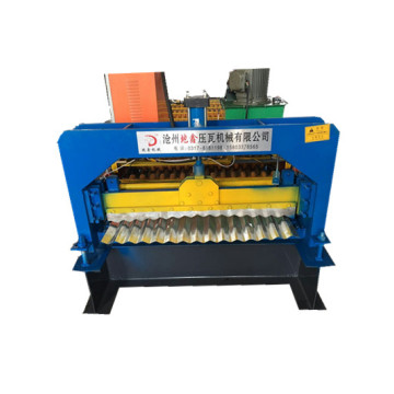 DX Corrugated roofing roll forming machine